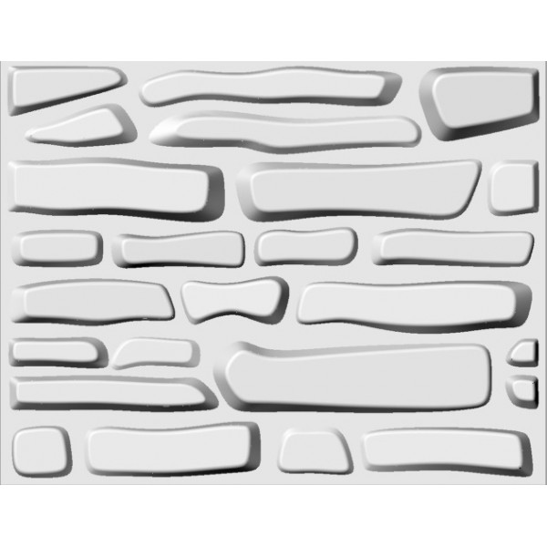 Berlin Design 3D Glue on Wall Panel