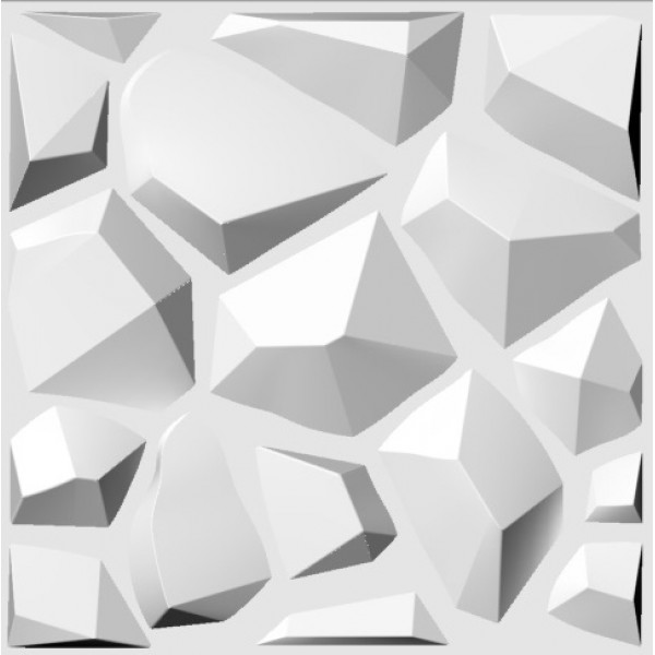 Cave Design 3D Glue on Wall Panel