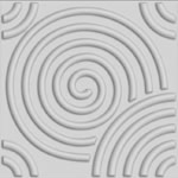 Circle Design 3D Glue on Wall Panel