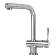 Ariel Flamingo Stainless Steel Lead Free Pull Out Kitchen Faucet