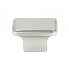 NEPOLI Series Rectangle 1-1/2 In. x 7/8 In Brushed Nickel Cabinet Knob