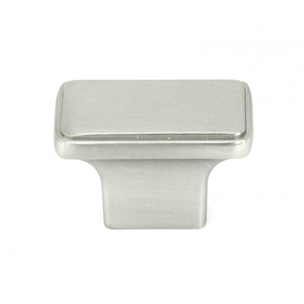 a4ac6b612c0 NEPOLI Series Rectangle 1-1 2 In. x 7 8 In Brushed Nickel Cabinet Knob