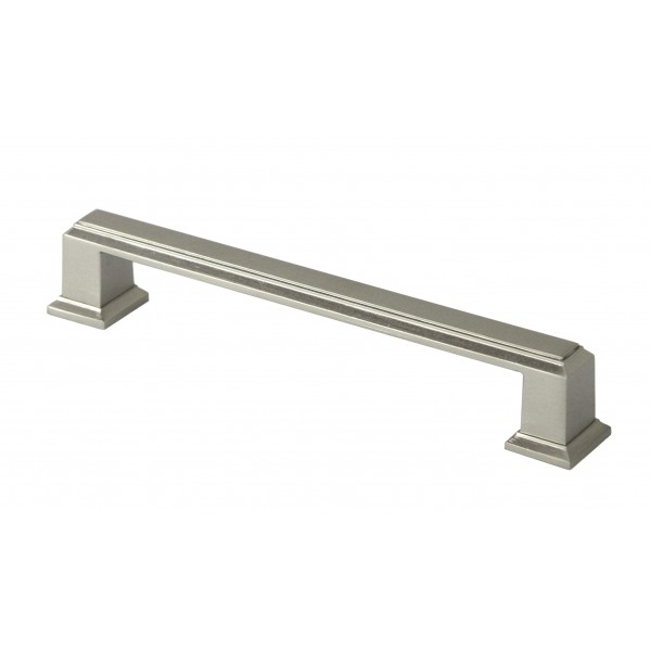 ROMA Series 5-3/4 in. Solid Zinc Alloy Brushed Nickel Drawer Pull Handle
