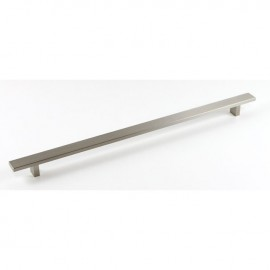 Kingsman LW Series 16-1/2 in. Center-to-Center (419mm) Flat Solid Hard Aluminum Anodizing Drawer Pull