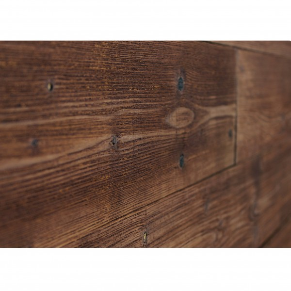 Peel and Stick Dark Brown color reclaimed wood panels 16 Sq Ft / Box