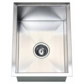 """15"""" Stainless Steel Undermount Kitchen / Bar / Prep Sink"""