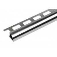 Aluminum Tile Trim Polish Chrome Finish Set of 10 pcs