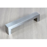 Stainless Steel 6-Inch Square Bold Style Cabinet Pull Handle