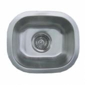 14 Inch Stainless Steel Undermount Kitchen / Bar / Prep Sink