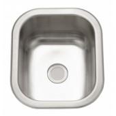 "14"" Stainless Steel Single Bowl Kitchen Sink"