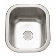 "14"" Stainless Steel Single Bowl Kitchen Sink"