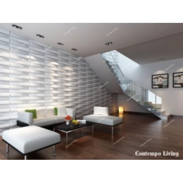 Brooklyn Design 3D Glue on Wall Panel