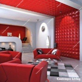 Diamond Design 3D Glue on Wall Panel