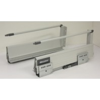 """16"""" Double Steel Wall Soft Close Drawer Slide 6-1/2"""" H"""