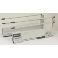 """16"""" Double Steel Wall Soft Close Drawer Slide 8-1/8"""" H"""