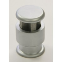 4 Way Edge Grip border standoff fastener Satin Finish