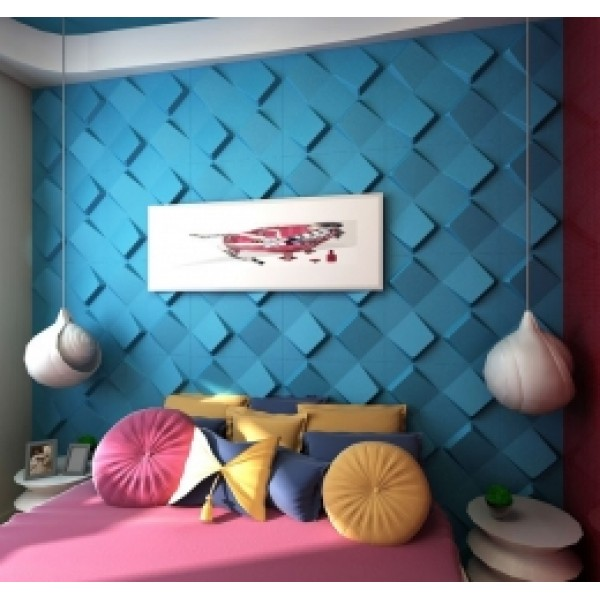 Space Design 3D Glue on Wall Panel