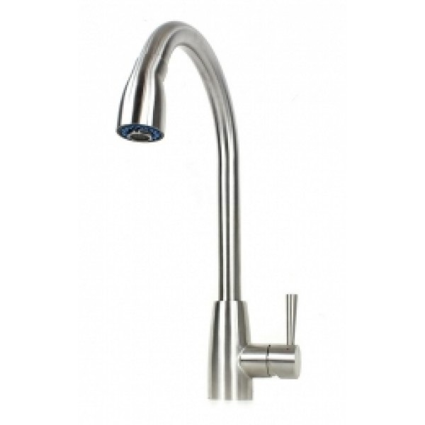 Ariel Felice Solid Stainless Steel Lead Free Kitchen Faucet