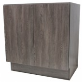 36 Inch European Style Dark Walnut Pattern Bathroom Vanity
