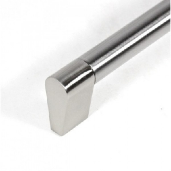 SubZero Style 5-3/4 Inch Stainless Steel Finish Cabinet Handle