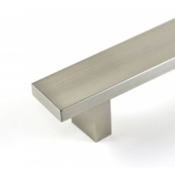 6 inch Flat Hard Aluminum Anodizing Cabinet Handle
